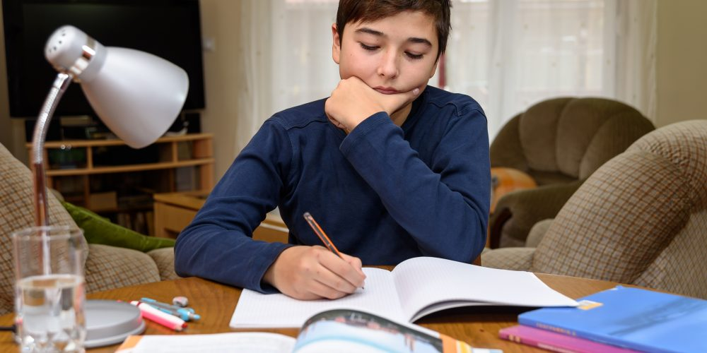 درس خواندن کودکان و نوجوانان در قرنطینه